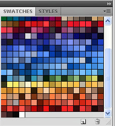 Pallete Swatches