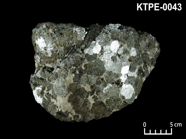 KTPE-0043 帶雲母, 鈉長石