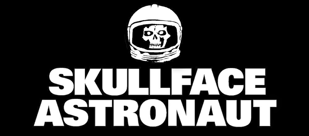 skullface astronaut logo