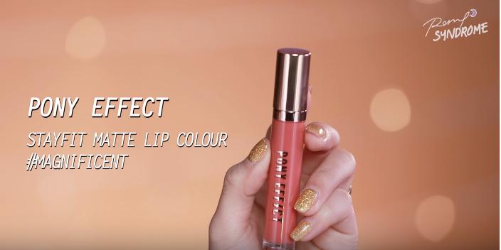 Pony Effect Stayfit Matte Lip Colour #Magnificent