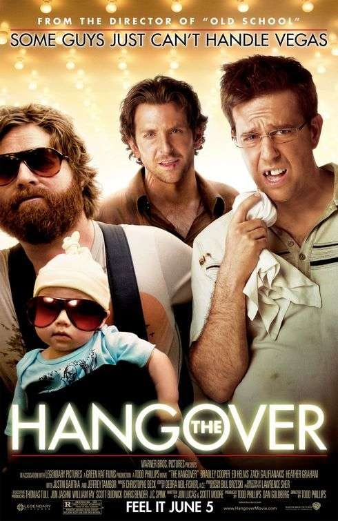 Poster Of The Hangover (2009) Full Movie Hindi Dubbed Free Download Watch Online At Alldownloads4u.Com