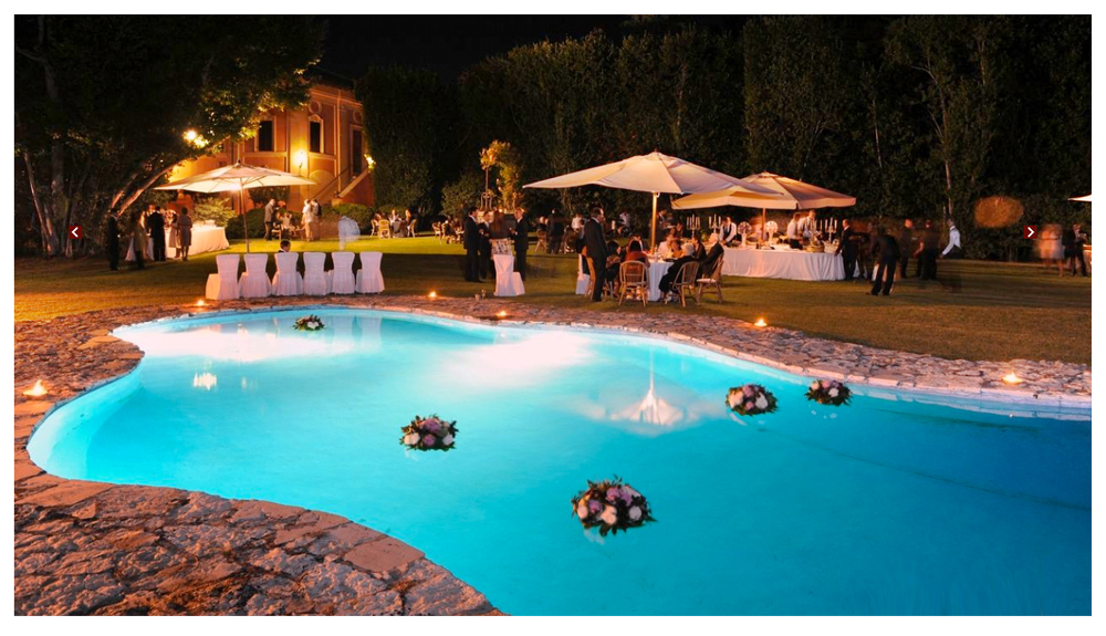 Floating Pool Decorations For Wedding