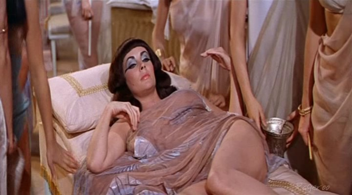 Elizabeth taylor cleopatra nude really. was