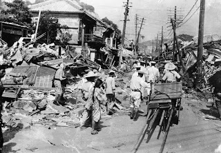 Earthquake in Kanto,Japan