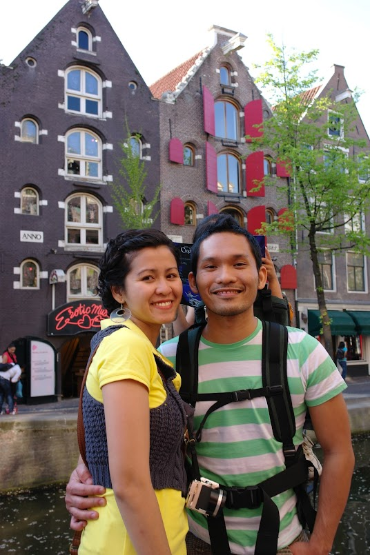 Dr. Earl Juanico with wife Maricor at Amsterdam
