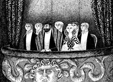 The Blue Aspic - Edward Gorey