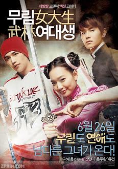 Nữ Sinh Võ Lâm - My Mighty Princess (2011) Poster