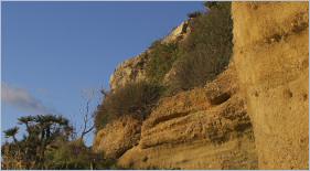 Bagheria Sizilien - Der geologische Aufbau der Küste