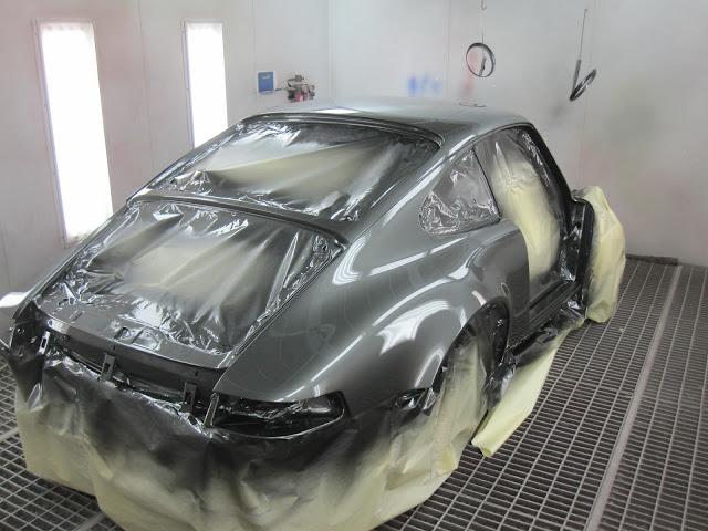 Toon onderwerp 964 restauratie for Auto interieur spuiten