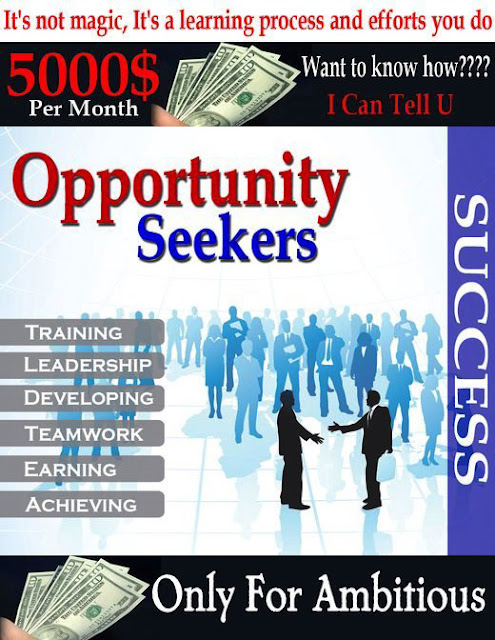 a description of an opportunity seeker Learn to write an ad that inspires qualified job seekers to apply this is your opportunity to now that you've mastered how to write a job description.