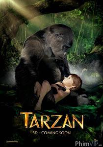 Cậu Bé Rừng Xanh 3d - Tarzan 3d poster