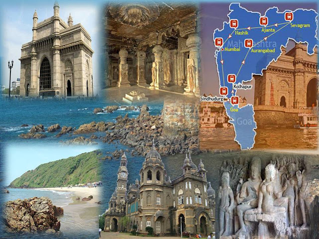 Places Traversed By Deccan Odyssey