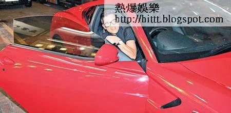 郭富城曾擁有值逾四百萬元的法拉利跑車。