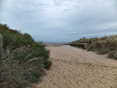 Entrance to Brancaster Beach