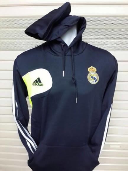 Jual Hoodie Real Madrid Warna Dongker Terbaru 2014