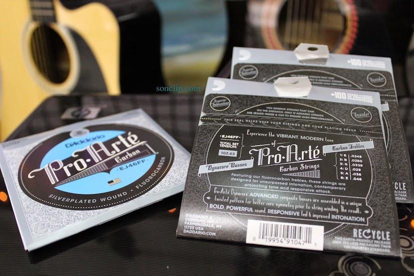 Dây Đàn Guitar Classic - D'Addario Pro-Arté Carbon EJ46FF