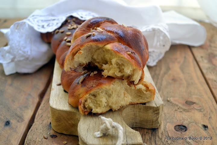 Il pane dolce dello Shabbat alla marmellata di mandarino