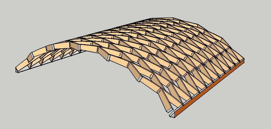 Plugin Lamella Roofs Sketchucation 1