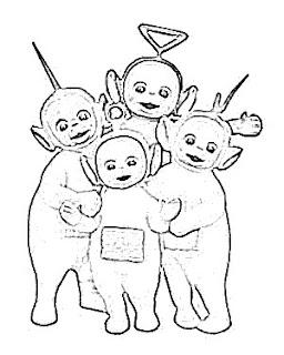 Teletubbies Sketch