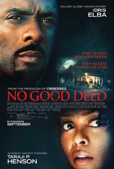 Poster Of English Movie No Good Deed (2014) Free Download Full New Hollywood Movie Watch Online At Alldownloads4u.Com
