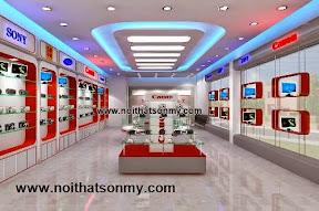 Thiết kế_thi công nội thất showroom, shop,...