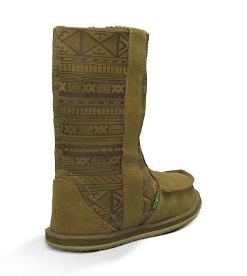 #SANUK WANDERER PRIMO:裡外兼具的麂皮雷雕民俗雪靴! 4
