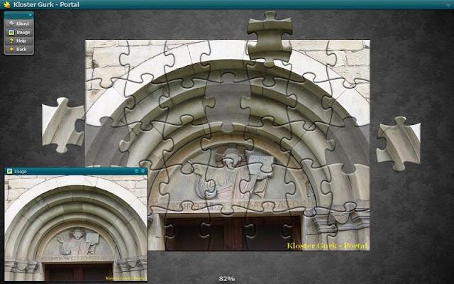 Puzzle Kirchen & Klöster - Beispiel