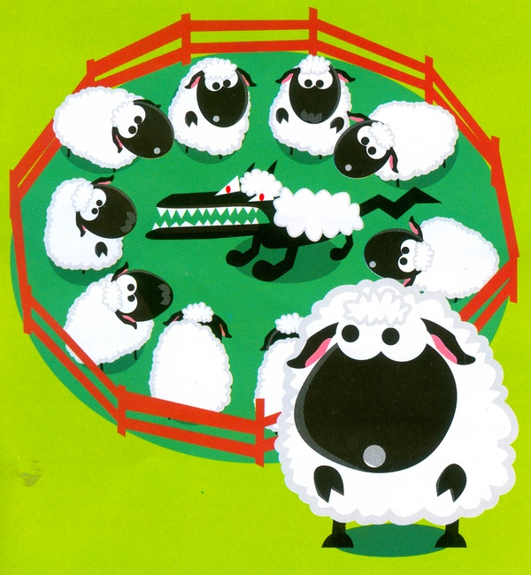Serigala Berbulu Shaun the Sheep