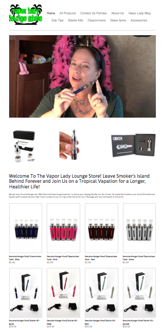 Our Online Vaping Store Has Opened! Click on the Picture Below To See What's New!