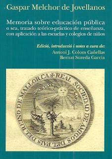 Memorias sobre Educación Pública - Gaspar Melchor de Jovellanos