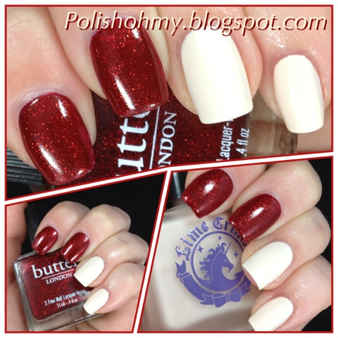 Lime Crime 'Milky Ways' & butter London 'Chancer'
