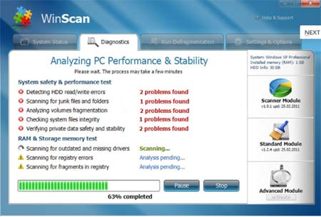 Remove WinScan fake scanner – Win Scan Removal Guide