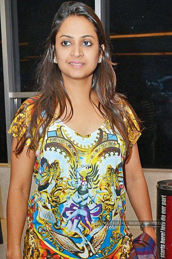 Rita Sanghi during the screening of Salman Khan&#039;s latest film Kick, at a city multiplex.<br />
