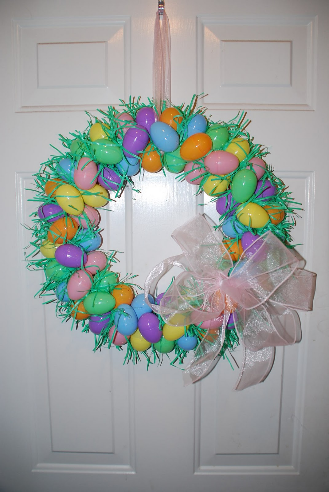 Two Plus Jilly: Easter Egg Wreath