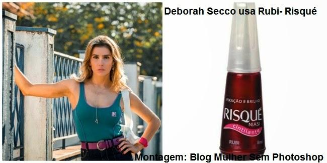 Esmalte Rubi Risqué Deborah Secco Boogie Oogie