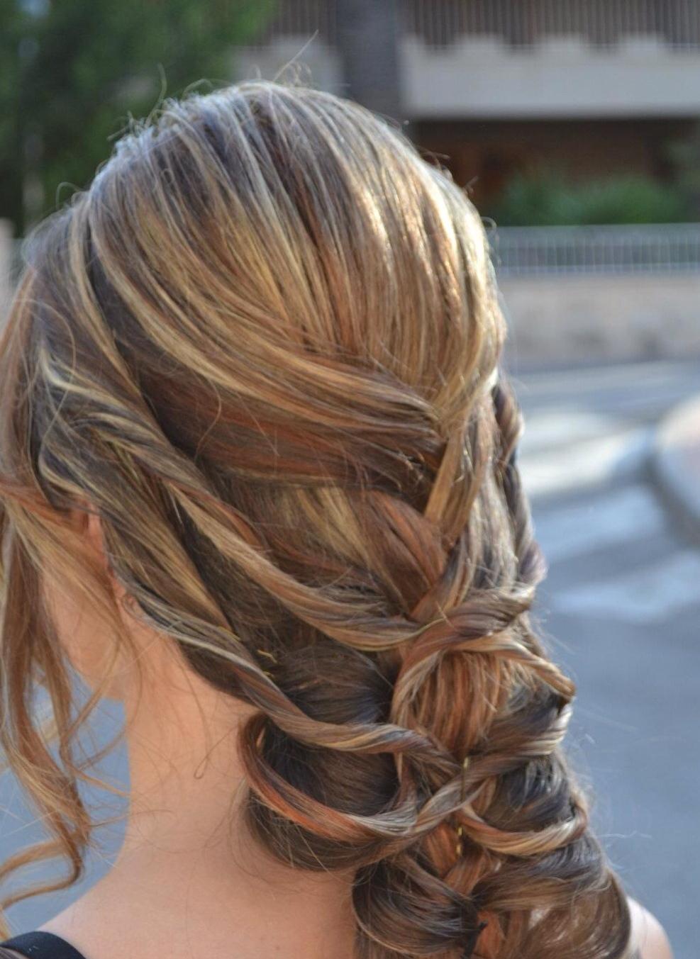 Fabuloso peinados para eventos Galería de cortes de pelo tutoriales - 18 recogidos y peinados para eventos y celebraciones ...