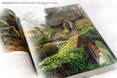 The Secret Garden, illustrated by Inga Moore, The Garden