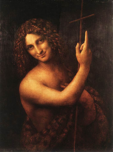 'St. John the Baptist' by Leonardo da Vinci, 1516