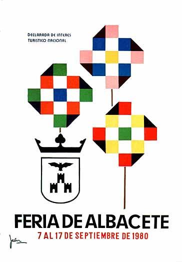 Cartel Feria Albacete 1980