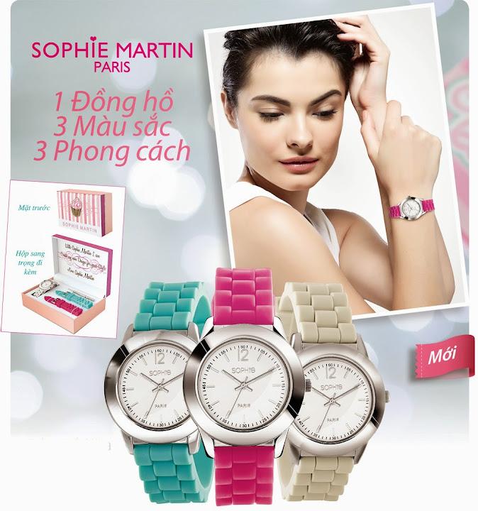 Đồng hồ 3 trong 1 Sophie Alika - WPU395