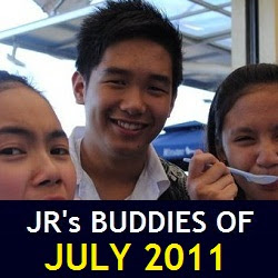 JR's Buddies of July 2011