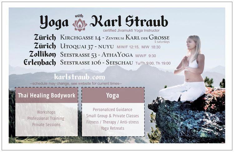 2014+karlstraub+postcard front Yoga in Zurich, Zollikon, & Erlenbach