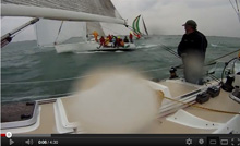 J/120 sailboat- sailing Detroit Beer can races
