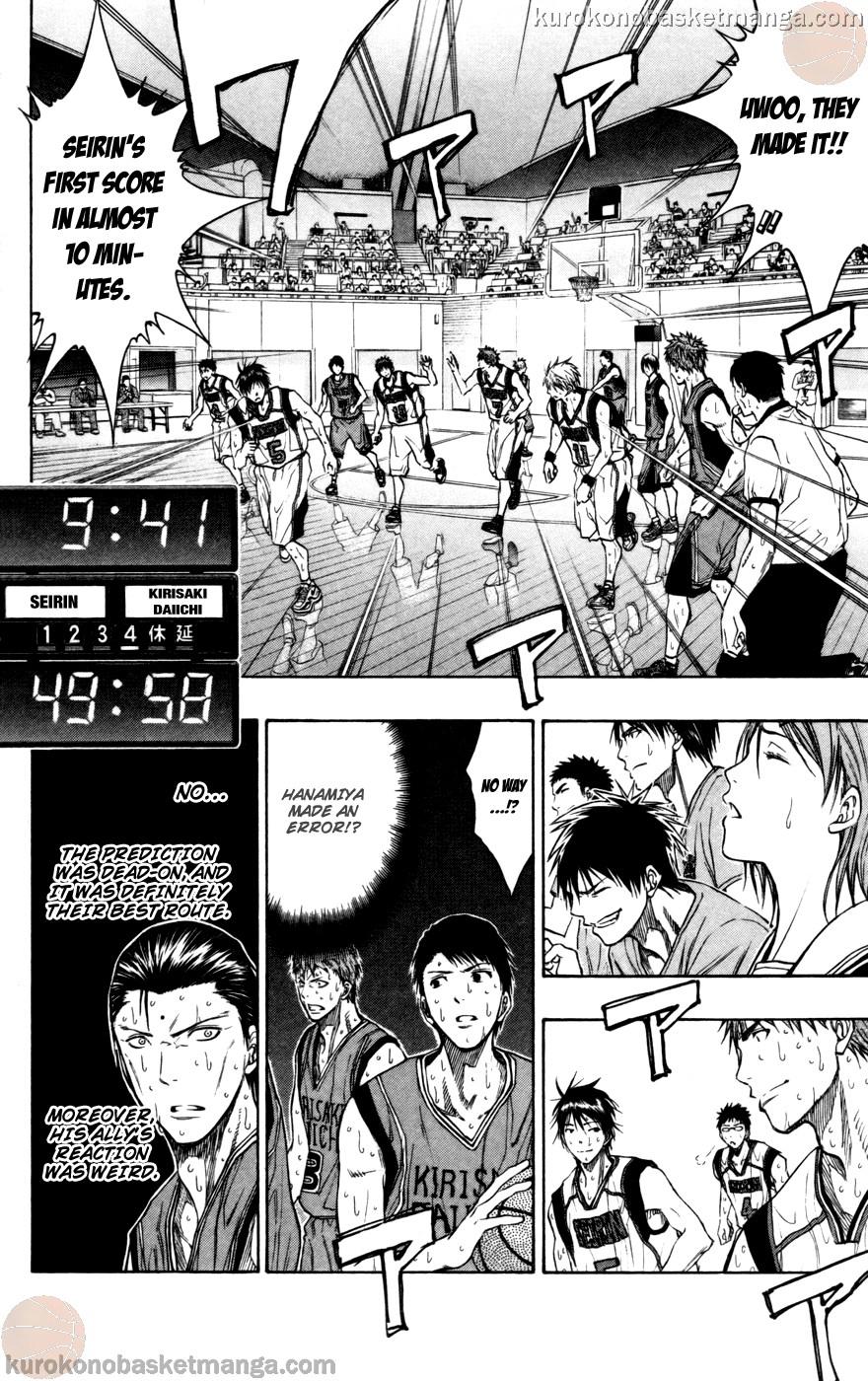 Kuroko no Basket Manga Chapter 105 - Image 10