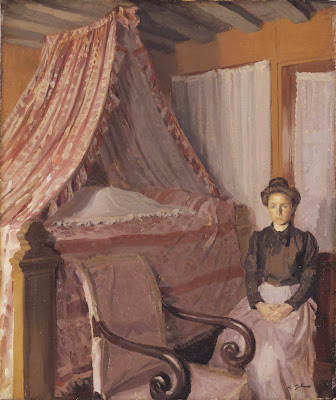 Harold Gilman - French Interior c.1907