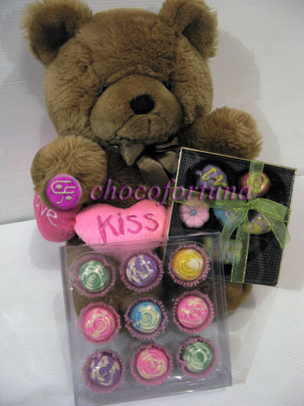 Parcel Coklat Brown Bear