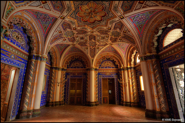 The Peacock Room at Sammezzano Castle in Italy