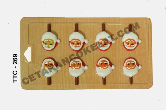 Cetakan Coklat TTC267 Natal Santa