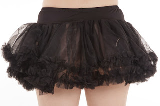 Beautiful Black Tulle Petticoat