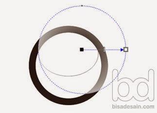 Gambar 10. Membuat efek lensa di Corel Draw
